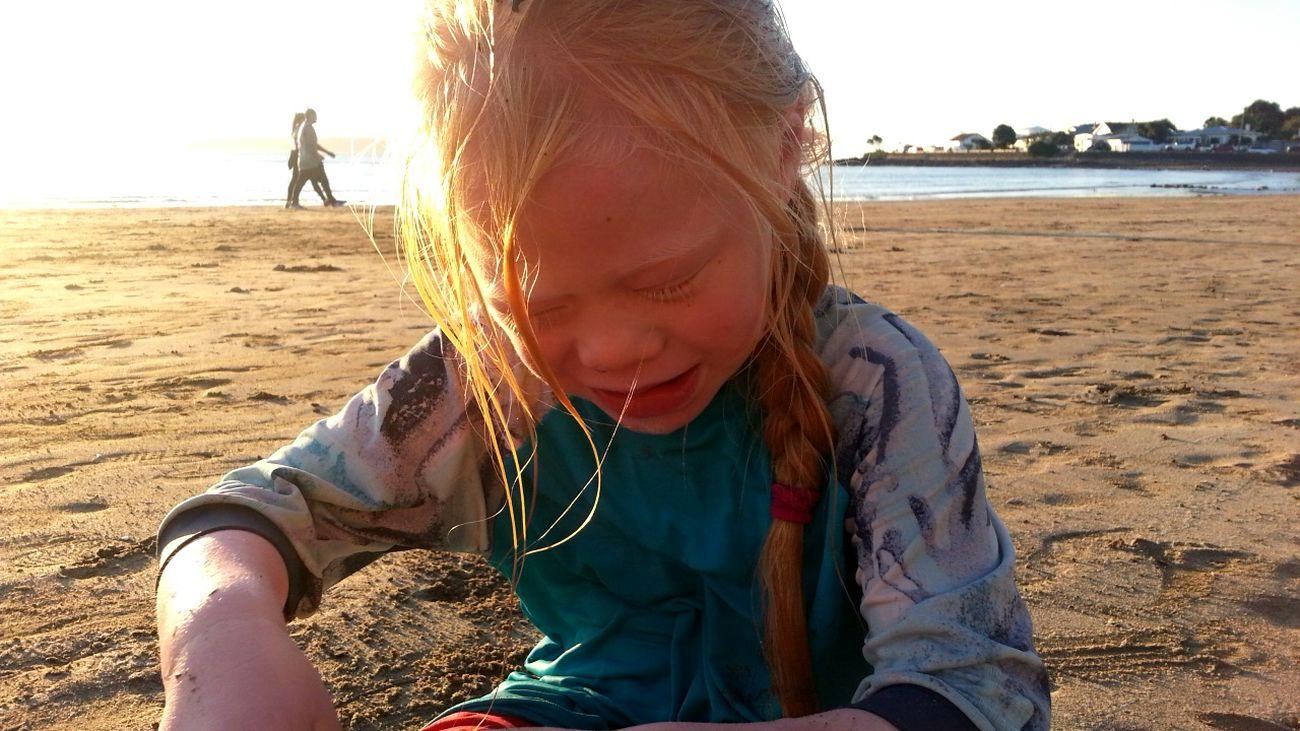 First Eyeem Photo Wellington Nz Babysister Beach Day