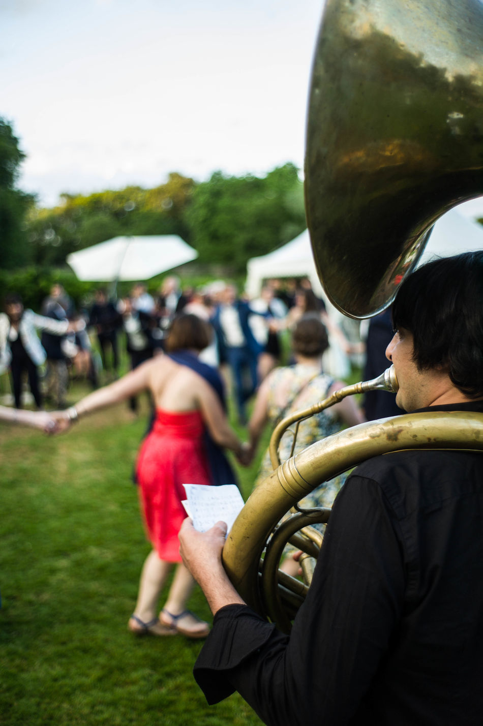 Buxy Day Evening Focus On Foreground Freshness Friendship Fé Music Music Festival Musical Instrument Outdoors Park People People Dancing Soirée Tuba Tzigane We