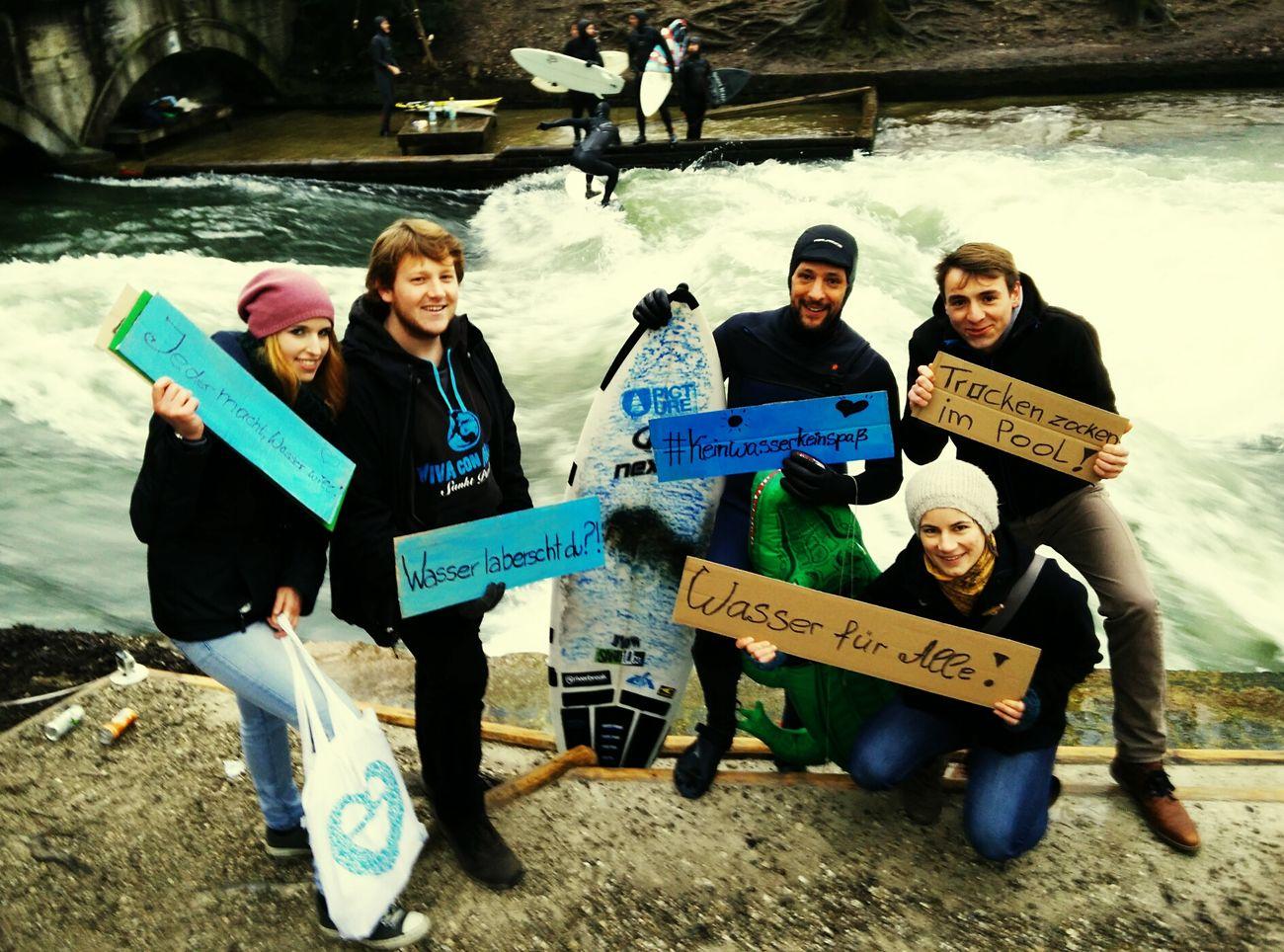 Tolle Aktion mit Vivaconagua zum Weltwassertag 2015