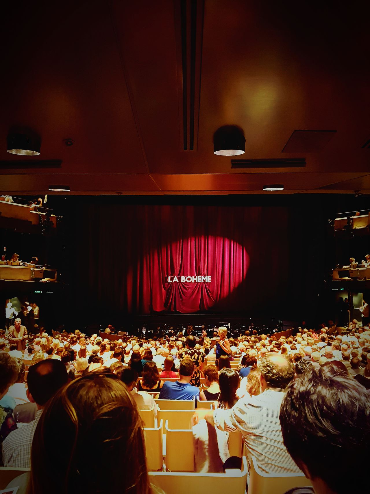 La Boheme 🎶🎵🎶 Music Cool Experience Arts Culture And Entertainment Indoors  Nightlife Opéra Sydney Photography Sydney Opera House CaptureTheMoment Australia