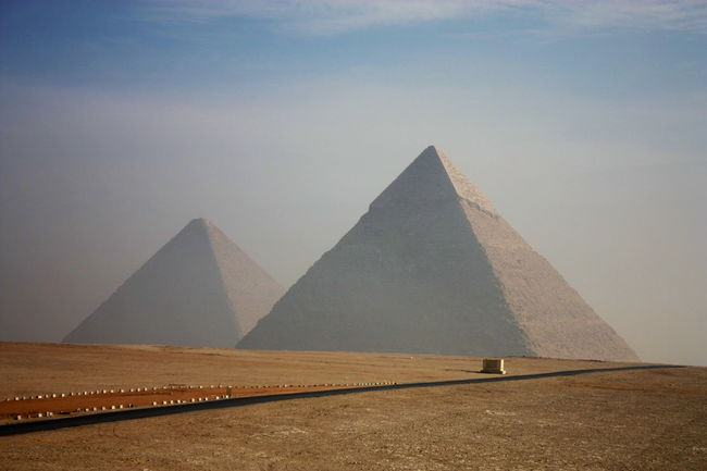 Cairo Egy Pyramid World Worldwonder