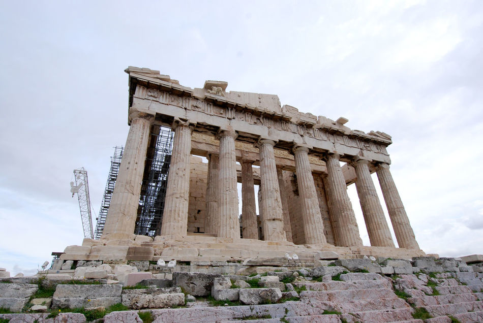 The Parthenon Acropolis, Athens Ancient Civilization Architecture City Day Greek Architecture Greek Symbols History No People Outdoors Parthenon Acropolis Greece Sky The Parthenon Travel Destinations