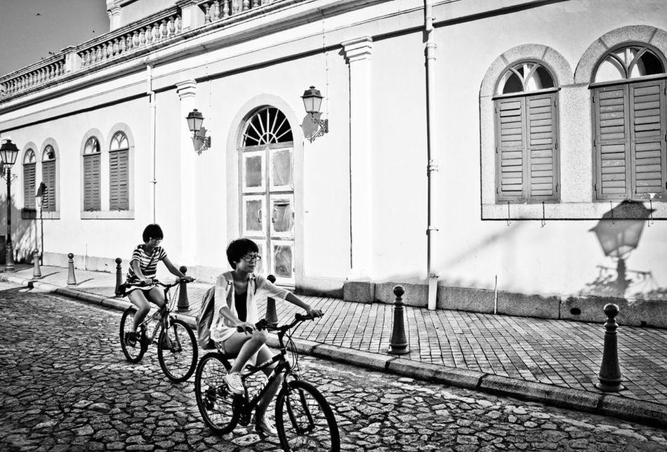 Macau Taipa Island Bicycle