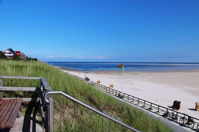 Amrum Strand Sandbank Nordsee Blauer Himmel Amrum Beach North Sea Blue Sky Taking Photos Enjoying Life Landscape Natural Beauty