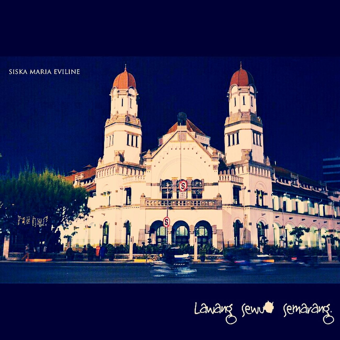 Architecture One Of The Iconic Building In Semarang, Indonesia.