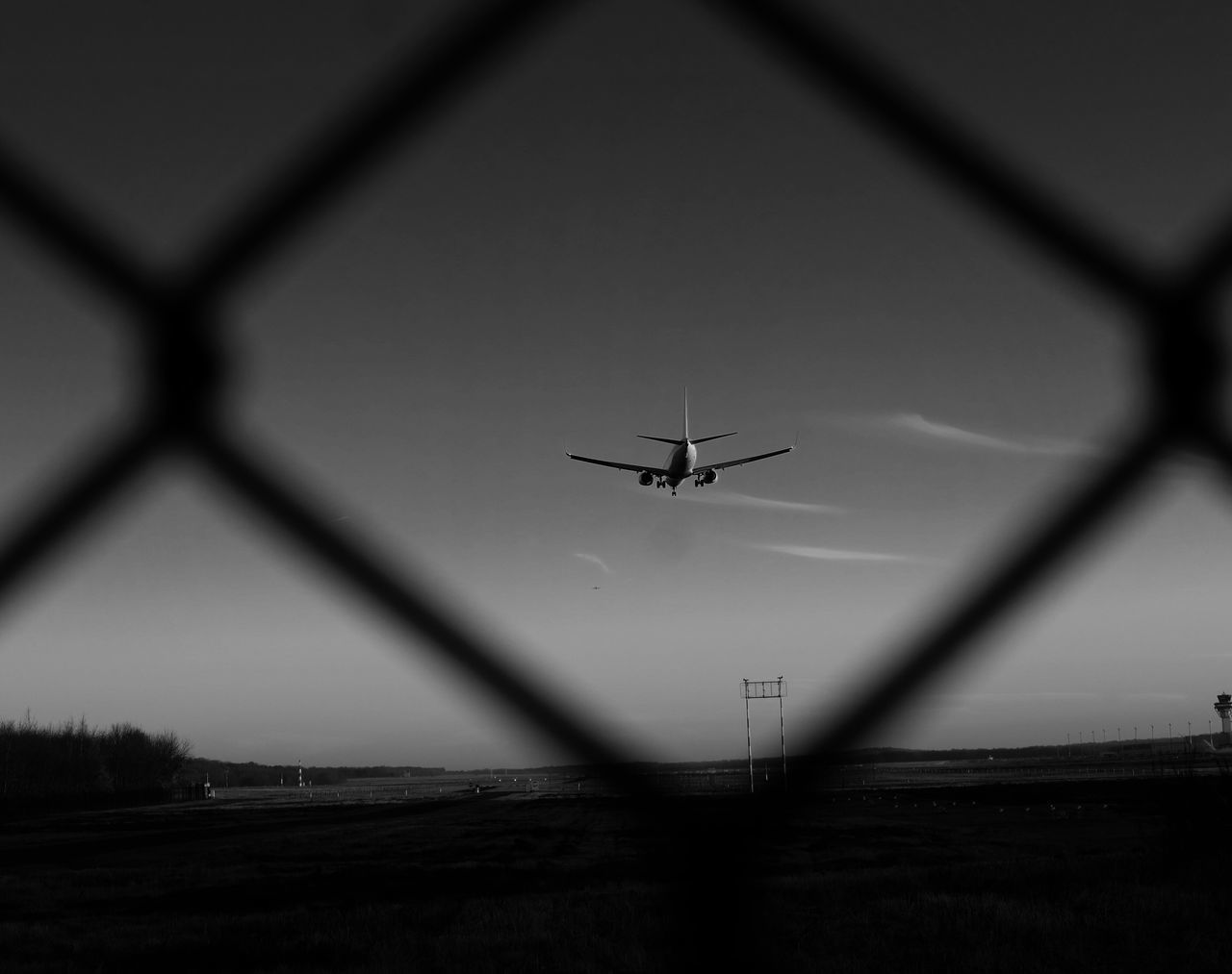 Airplane Flying Transportation Journey Mode Of Transport Photooftheday Photography Air Vehicle No People Sky Mid-air Low Angle View Day Outdoors Runway Nature Germanwings Night Aircraft Blackandwhite Landing - Touching Down EyeEm Best Shots EyeEm Gallery Eye4photography  Fujifilm