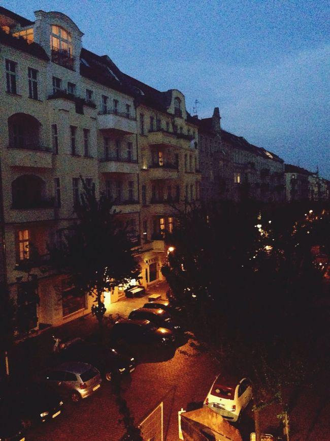 Prenzlauer Berg at Night, so beautiful Taking Photos Prenzlauerberg Prenzelhood Enjoying Life