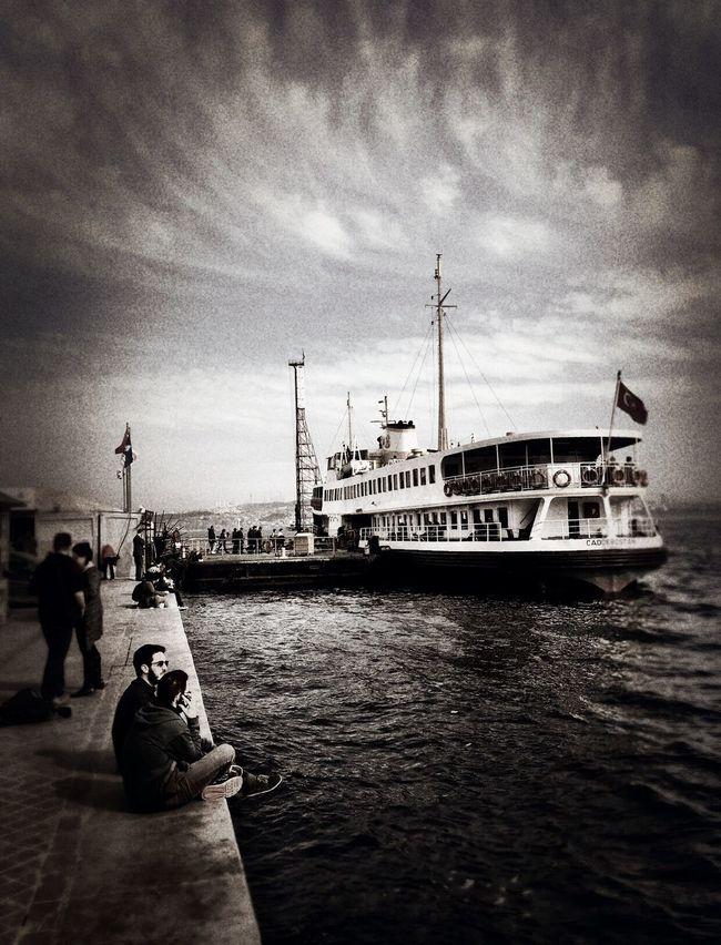 Streamzoofamily Blackandwhite Black And White Collection  Eyem Gallery EyeEm Best Shots - Black + White Istanbul Karaköy