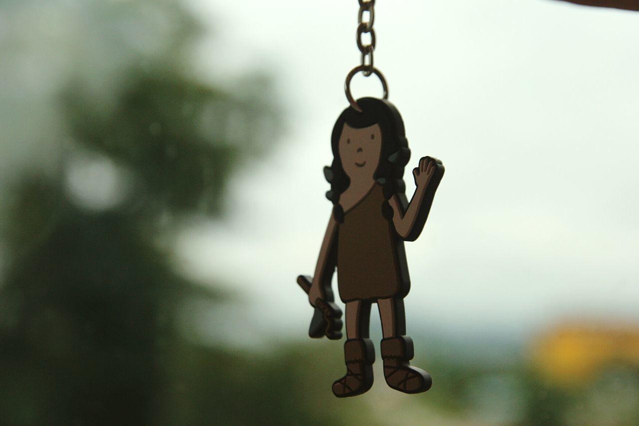 Hanging No People Outdoors Day Keychain South Korea Jeju Island, Korea