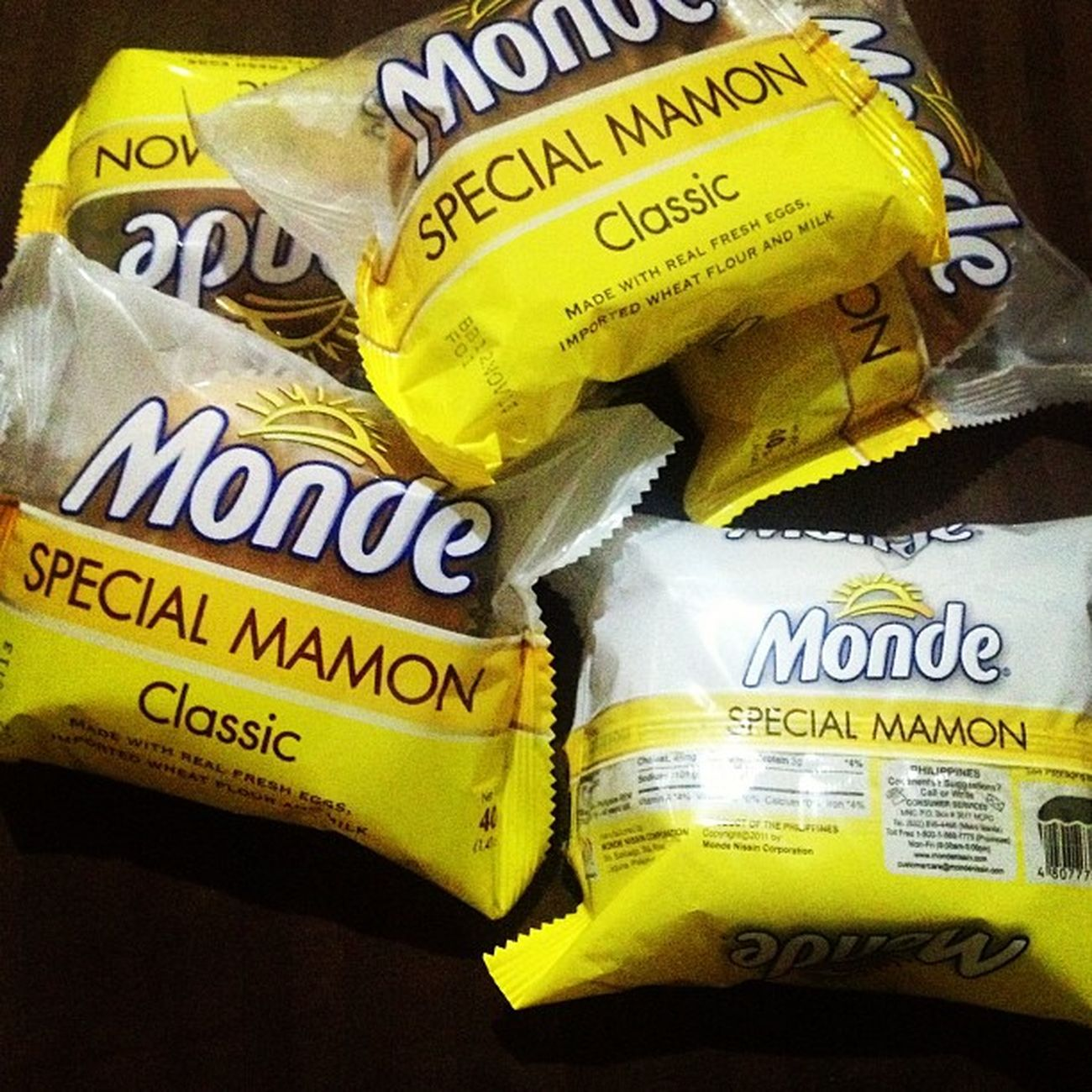I am super craving with this! Hahahaha! Let's have a miryenda, and will resume my work aftwerwards! Mamon Monde Love Miryenda rain rest sarap