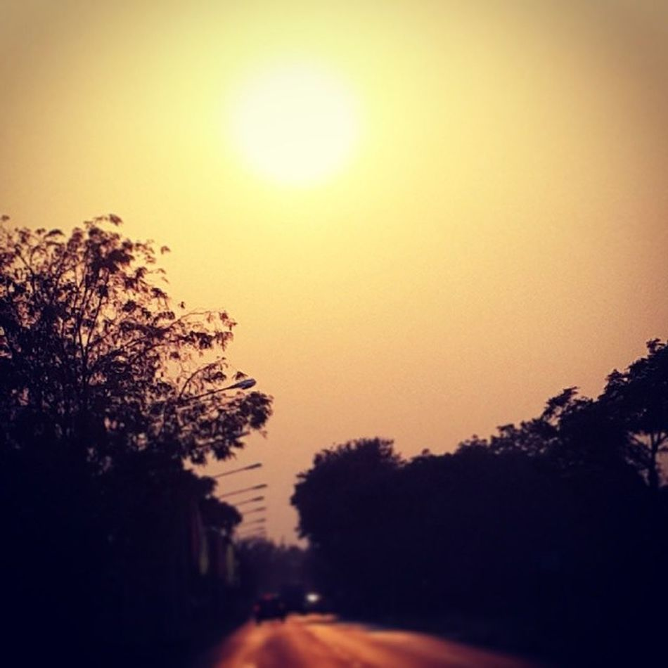 Good Afternoon :) Sunset Backhome Thailand