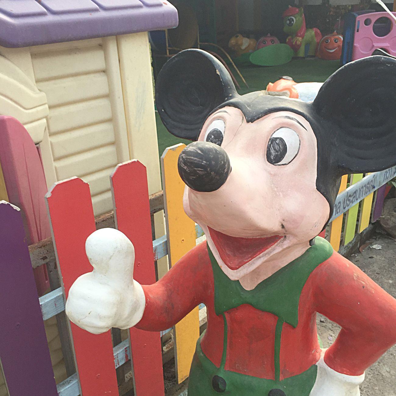 嘘つけ Mickey Mouse Fake Streetphotography Travelingram Kosamui