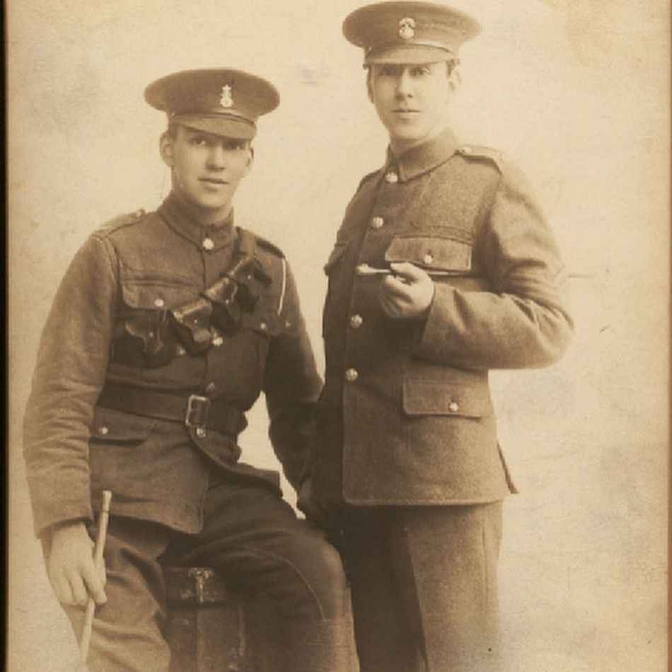 My great grandfather and my great uncle Ww1 War France 1914-1918