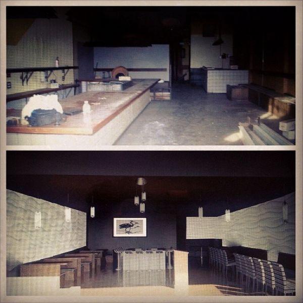 BeforeAndAfter  Interior Designerforlife Revit  cad photoshop finalproject sushidesign