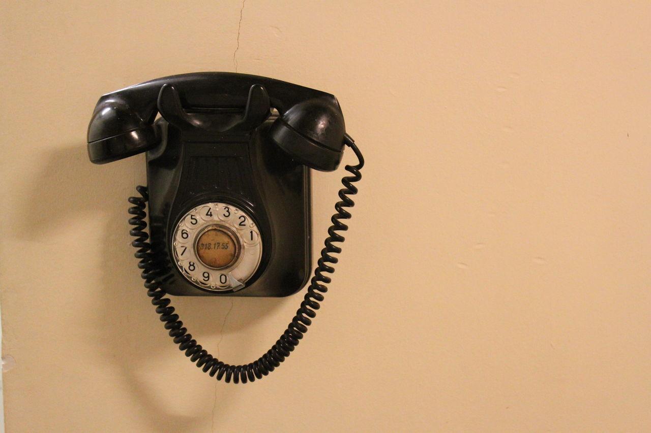 Altes Telefon Call Me Close-up Communication Connection Golden Cut Goldener Schnitt Hang Up Hanging Indoors  Landline Phone No People Old Telephone Old-fashioned Phone Ringring Technology Telefon Telephone