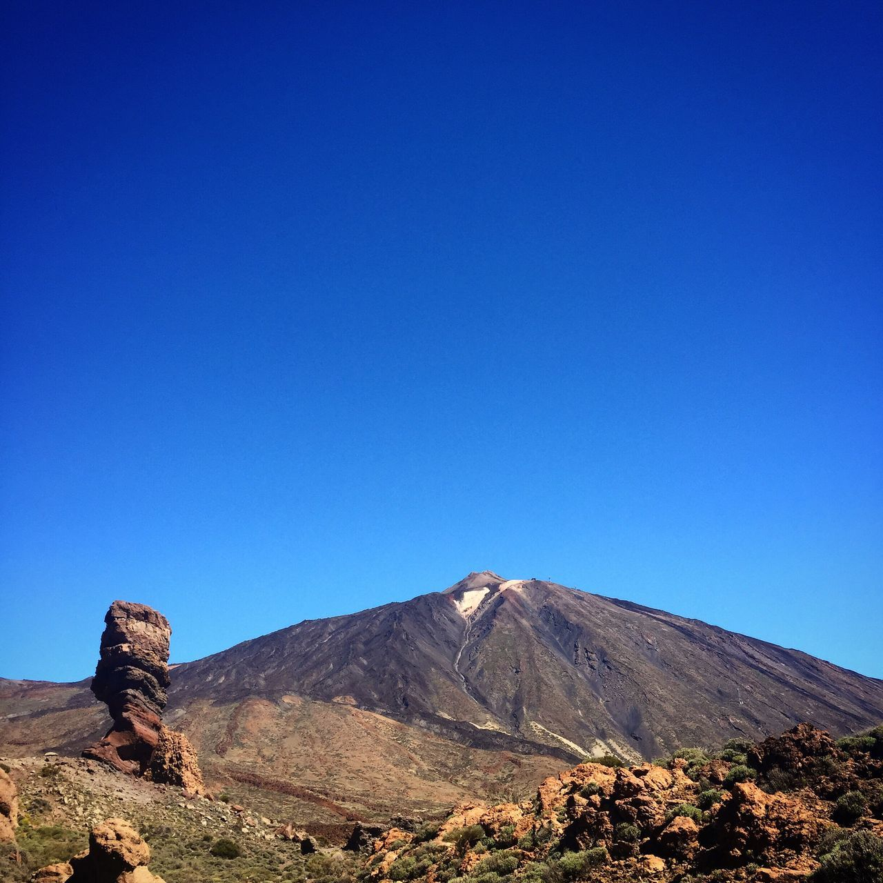 Teide Teidenationalpark Tenerife Volcano Volcanic Landscape Nature Naturaleza Volcán Clear Sky Blue Physical Geography Beauty In Nature No People Paradise Canarias Islas Canarias Island SPAIN España Geology IPhone Iphone6 IPhoneography Iphonephotography