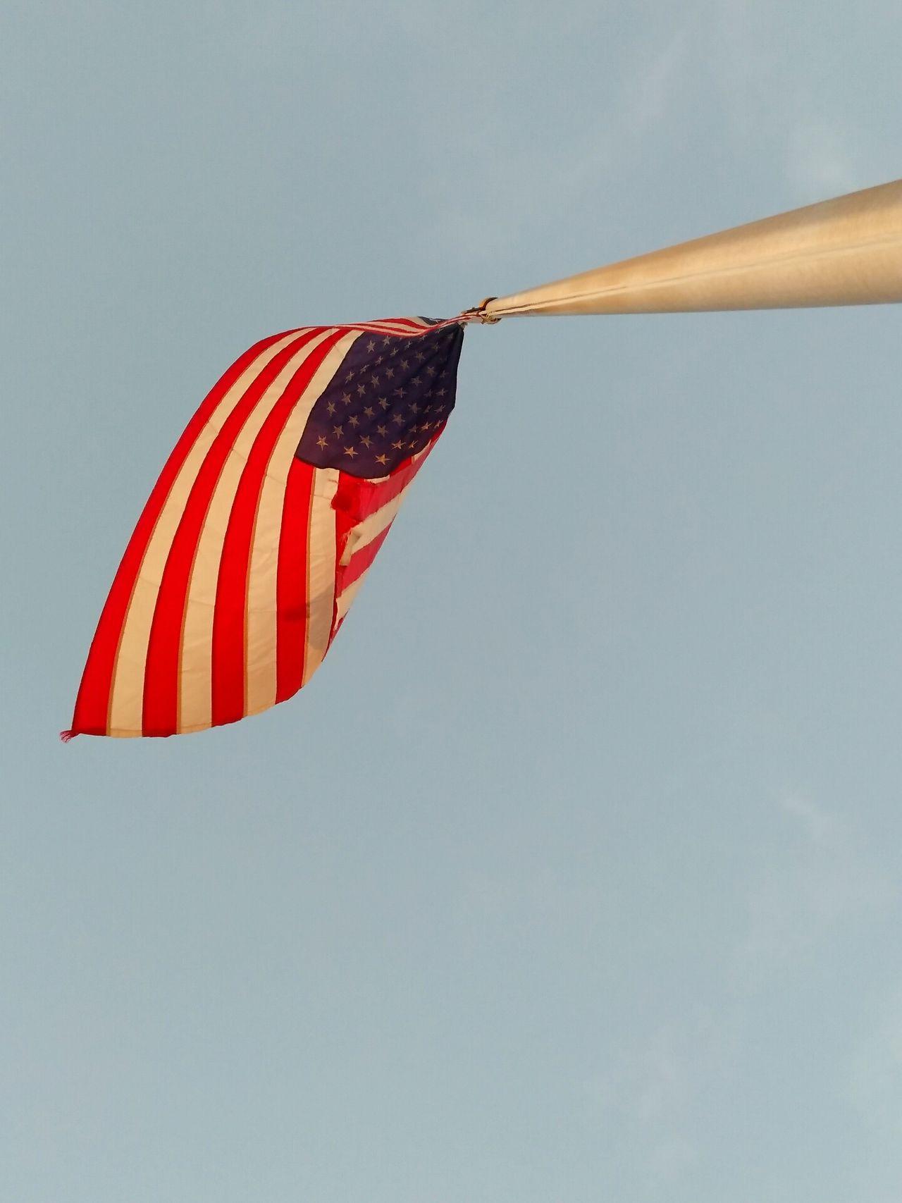 Patriotism No People Day Outdoors Sky America American Flag POTUS
