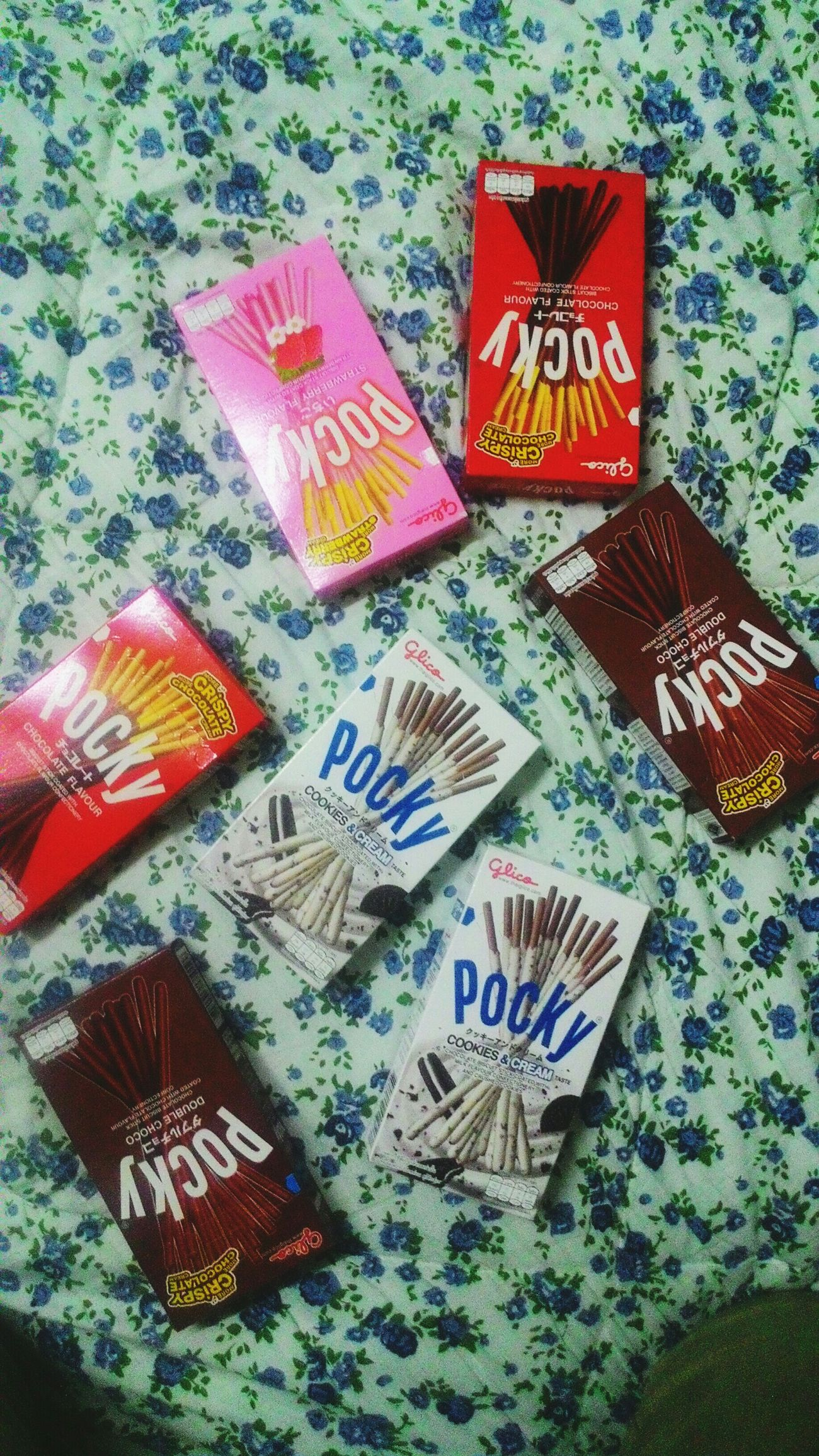 Pocky Pockys Pocky!! Love it! <3