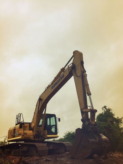 Construction Machinery Construction Site Industry Earth Mover Sky Industrial Equipment Machinery Digging Construction Vehicle Building - Activity Day No People Outdoors