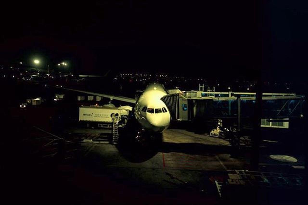 night, illuminated, no people, outdoors, cockpit