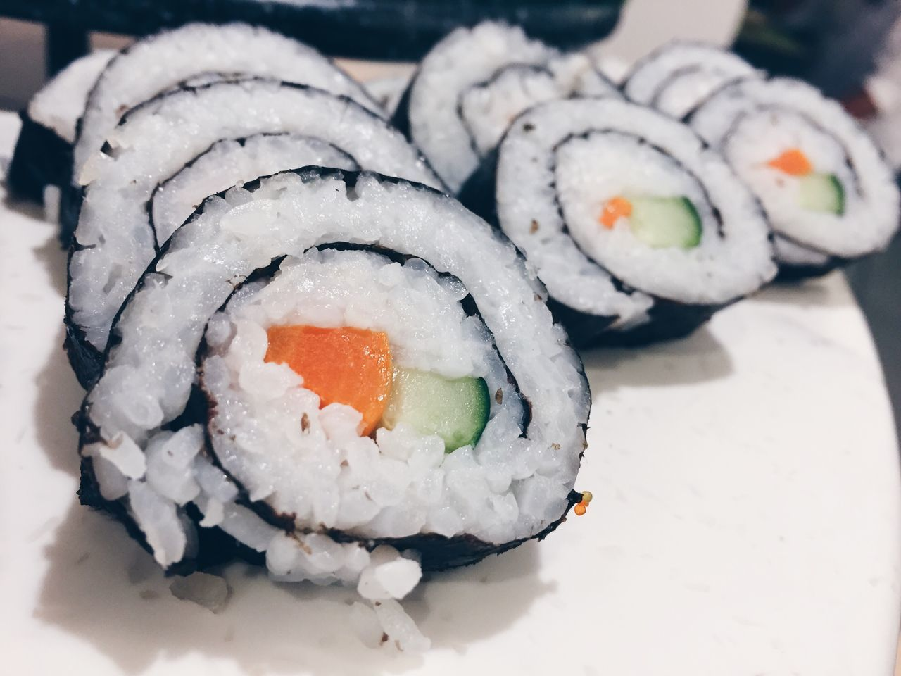 Food And Drink Sushi Rolled Up Freshness High Angle View Close-up Indoors  Food No People Healthy Eating Ready-to-eat Cultures Day Sushi Time Sushi Sushilover