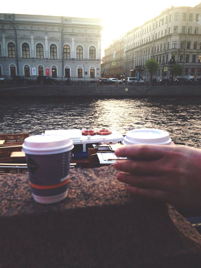 Saint Petersburg Kahve Coffee River Nehir City Russia Санкт-Петербург нева кофе