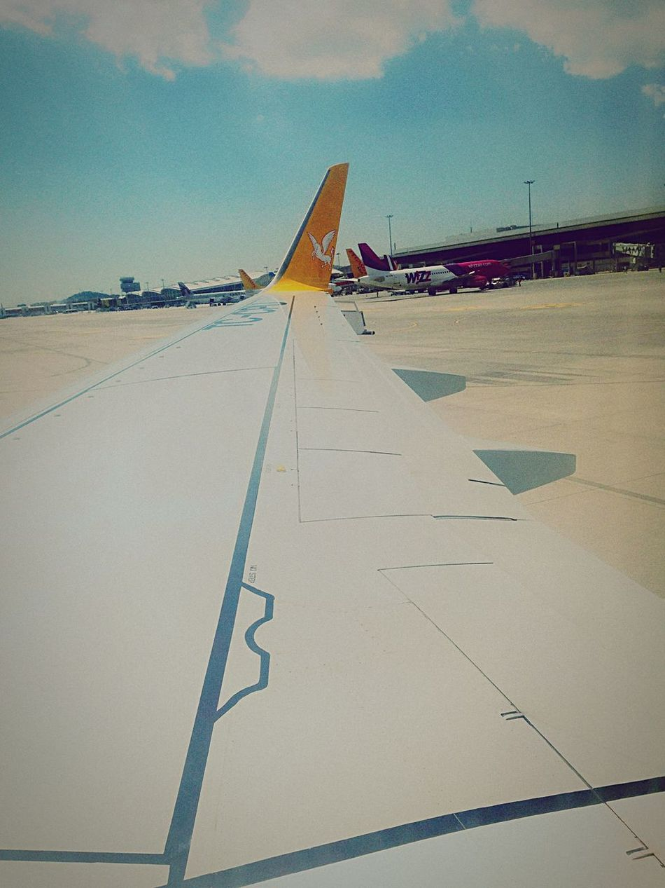 Enjoying Life Hello World On The Plane Travelling On The Plane ✈