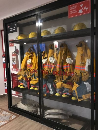 Store Retail  Indoors  No People Day fire fighting equipment