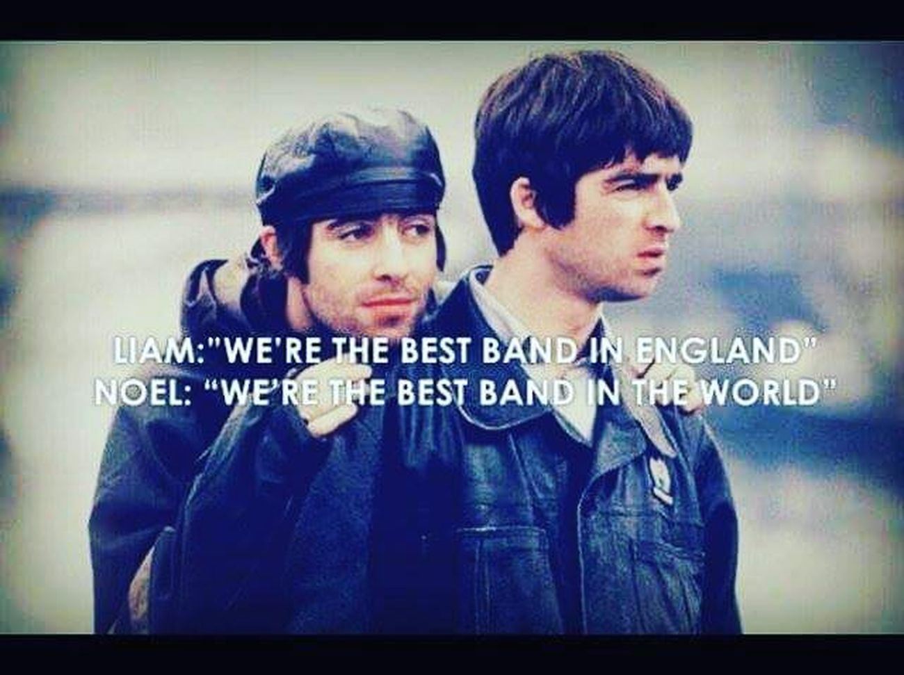 NoelGallagher Liamgallagher Oasis Morningglory Liveforever Rockandrollstar Scottsmenswear Gallagherbrothers