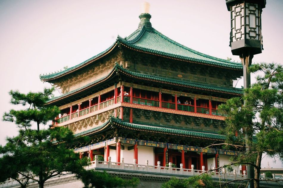 China .Xian China Hello World
