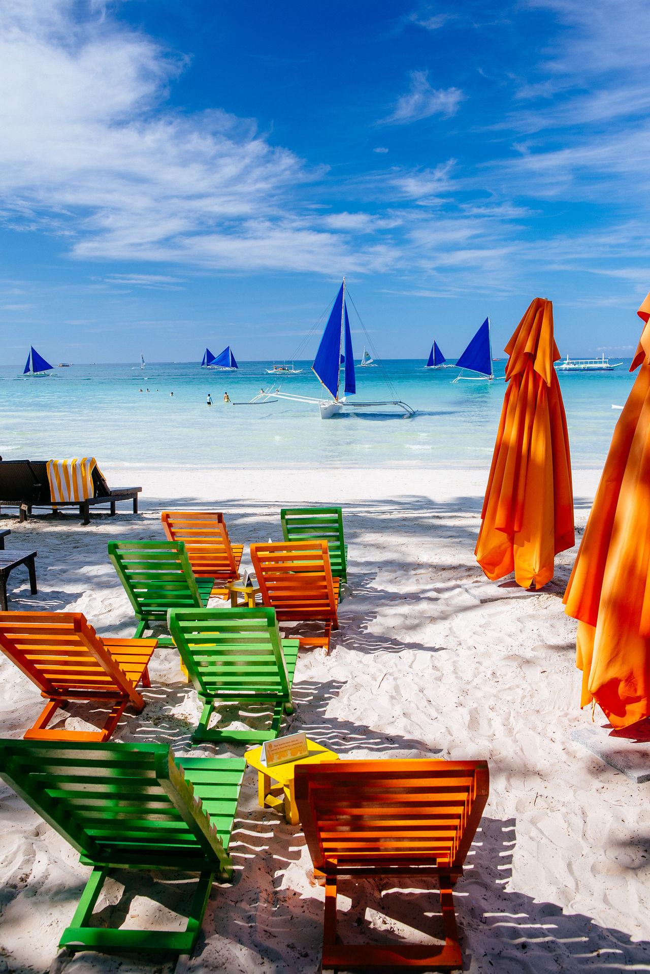 Beautiful stock photos of canvas, Absence, Beach, Beach Umbrella, Beauty In Nature