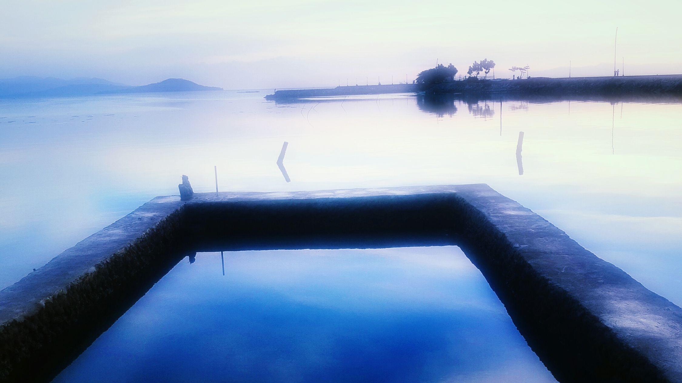 Calm Sea Sea Breeze Relaxing Feel The Nature Quite#calm#spring/-enjoy