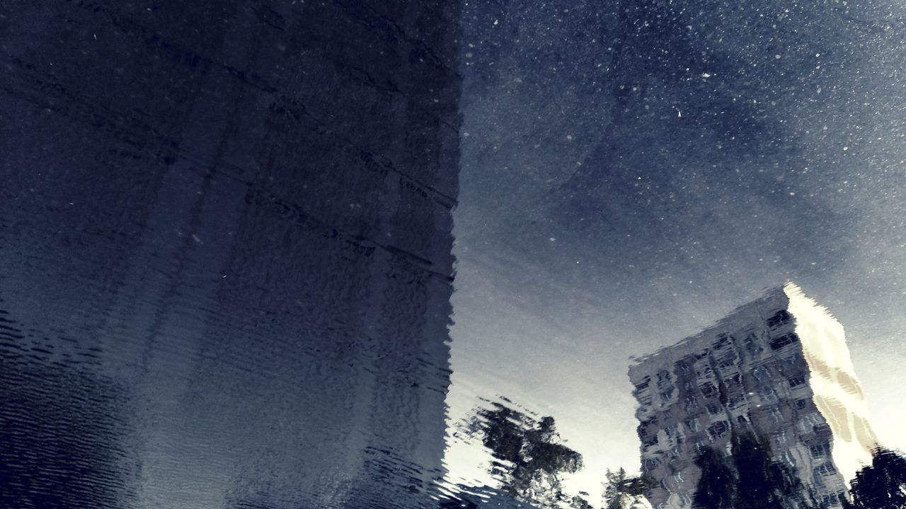 Night Milky Way Astronomy Sky Star - Space Skyscraper Low Angle View Architecture Outdoors Constellation Galaxy Space Building Exterior City Nature Urban Skyline No People
