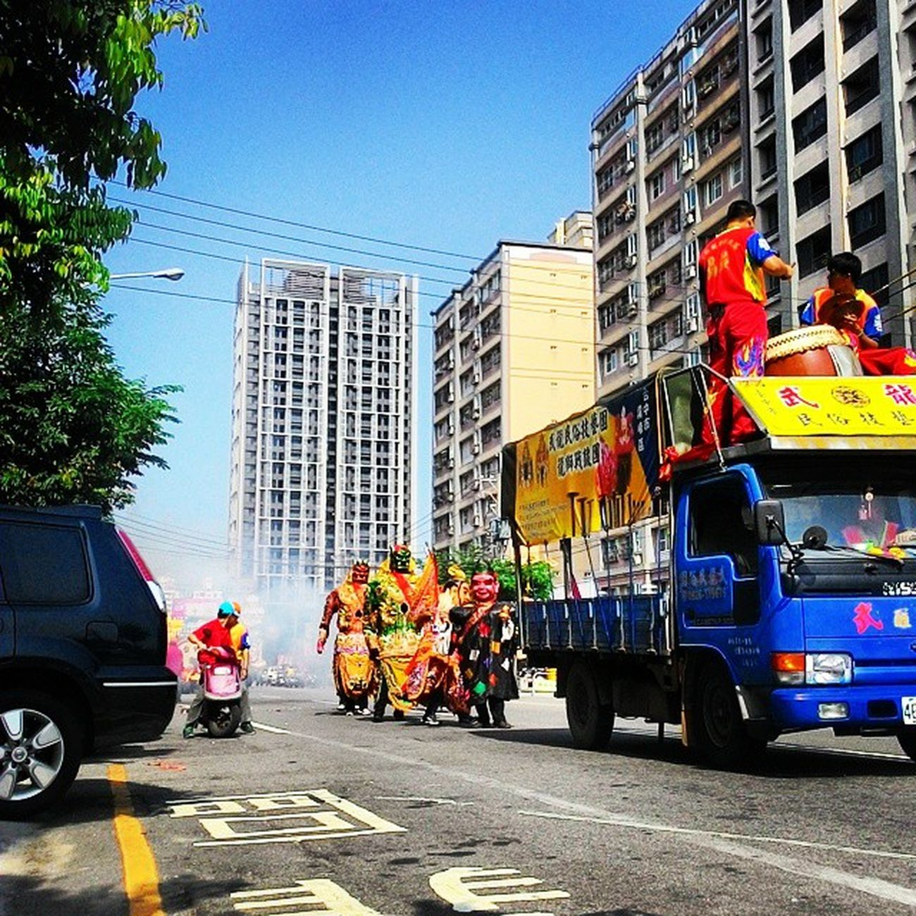 Morning Taiwan 台灣 民俗 Culture 文化 繞境 平安 祈福 Pray