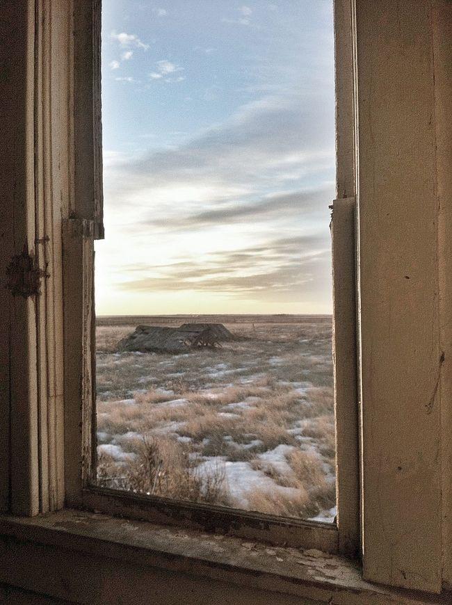 View to a Prairie Morning View To A Prairie Morning