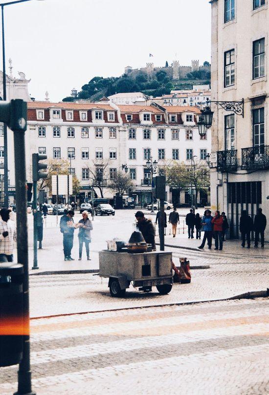 Taking Photos Analogue Photography Analogcamera Lisbonlovers Sunny Day Castanhas Tradition Traditional