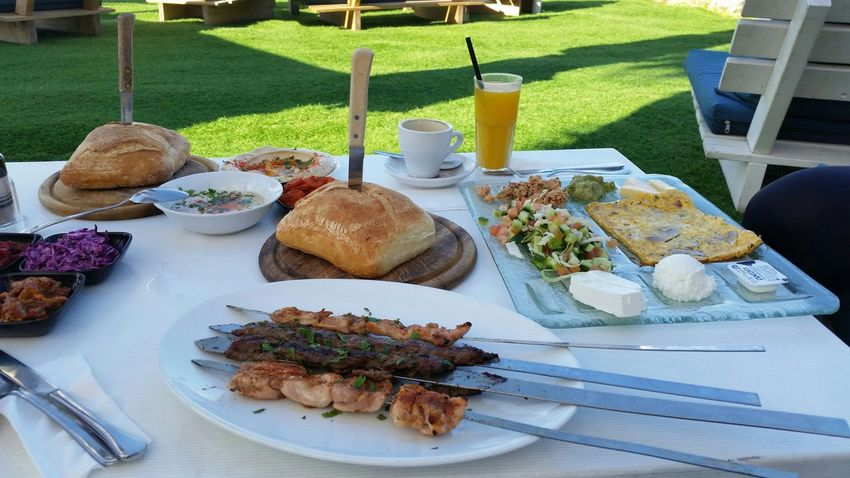 What's For Dinner? Citylife Everyday Life In Israel Isralove ישראל Israel Everyday Joy Yummy Sunny Day Restaurant