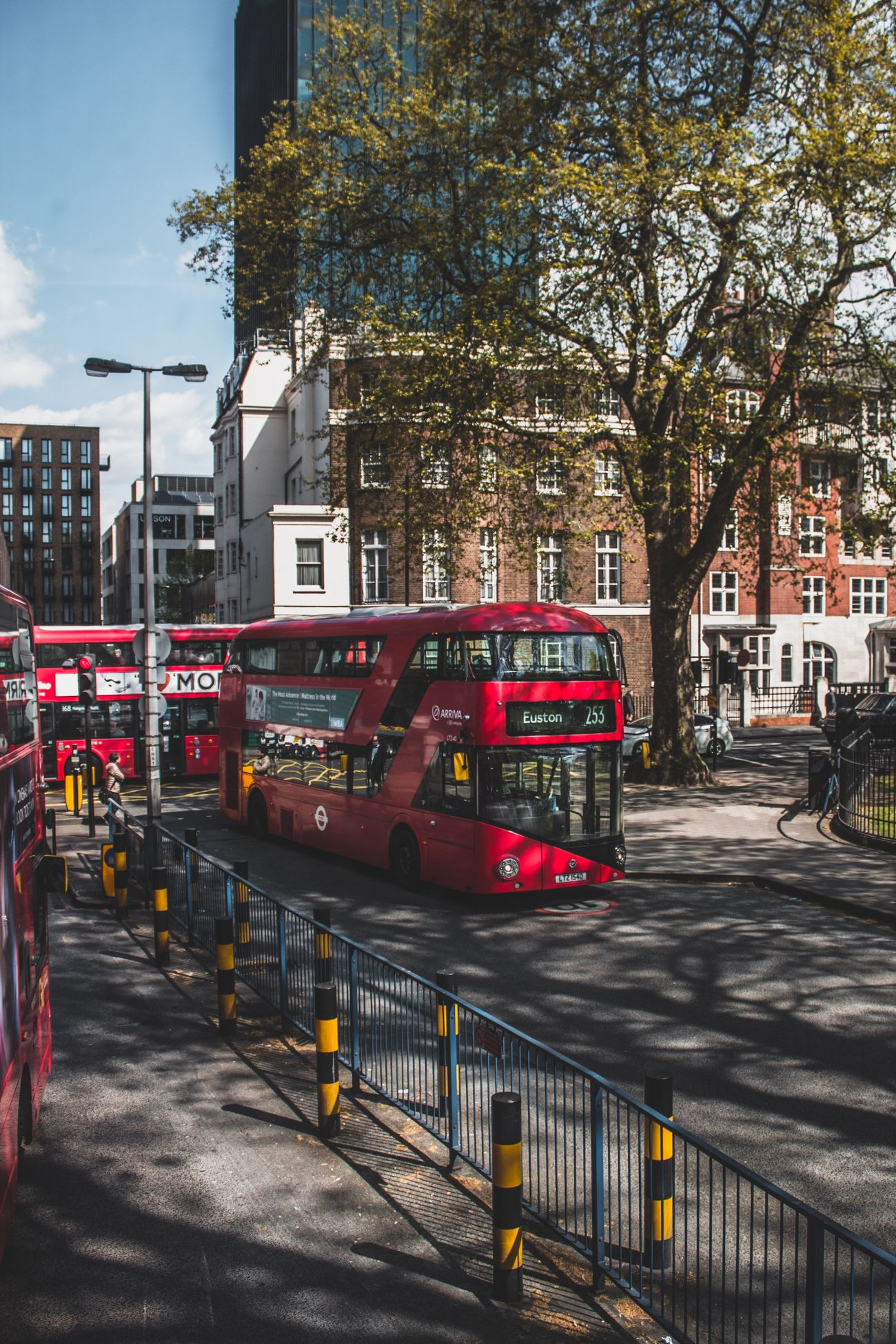 London United Kingdom London Bus City City Life Cityscape city Transportation Red Double-decker Bus City Neighborhood Map