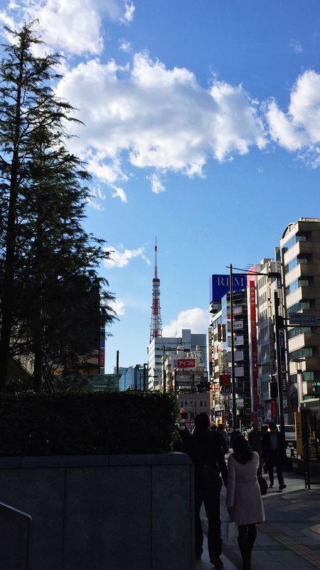昨日見た、久しぶりの東京タワー。? Taking Photos IPhoneography Seeking For Tokyo Tower 鉄塔♡Love ?