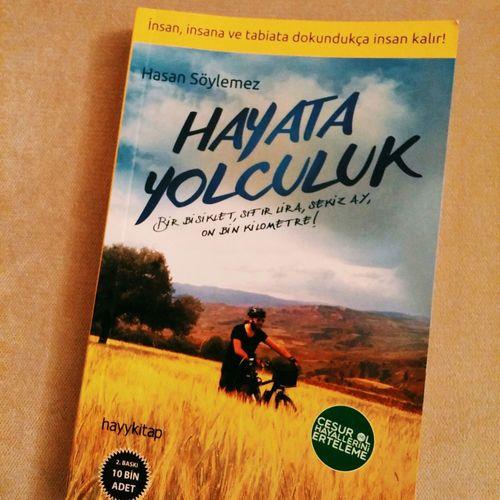 Cok guzel kitao 💓🚲 Hasansöylemez Hayatayolculuk Book Kitap Bike Bicycle Bisiklet