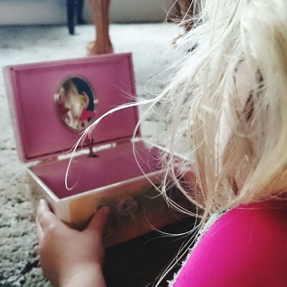 Simple things Ballerina Jewellery Box Blonde Children Kids