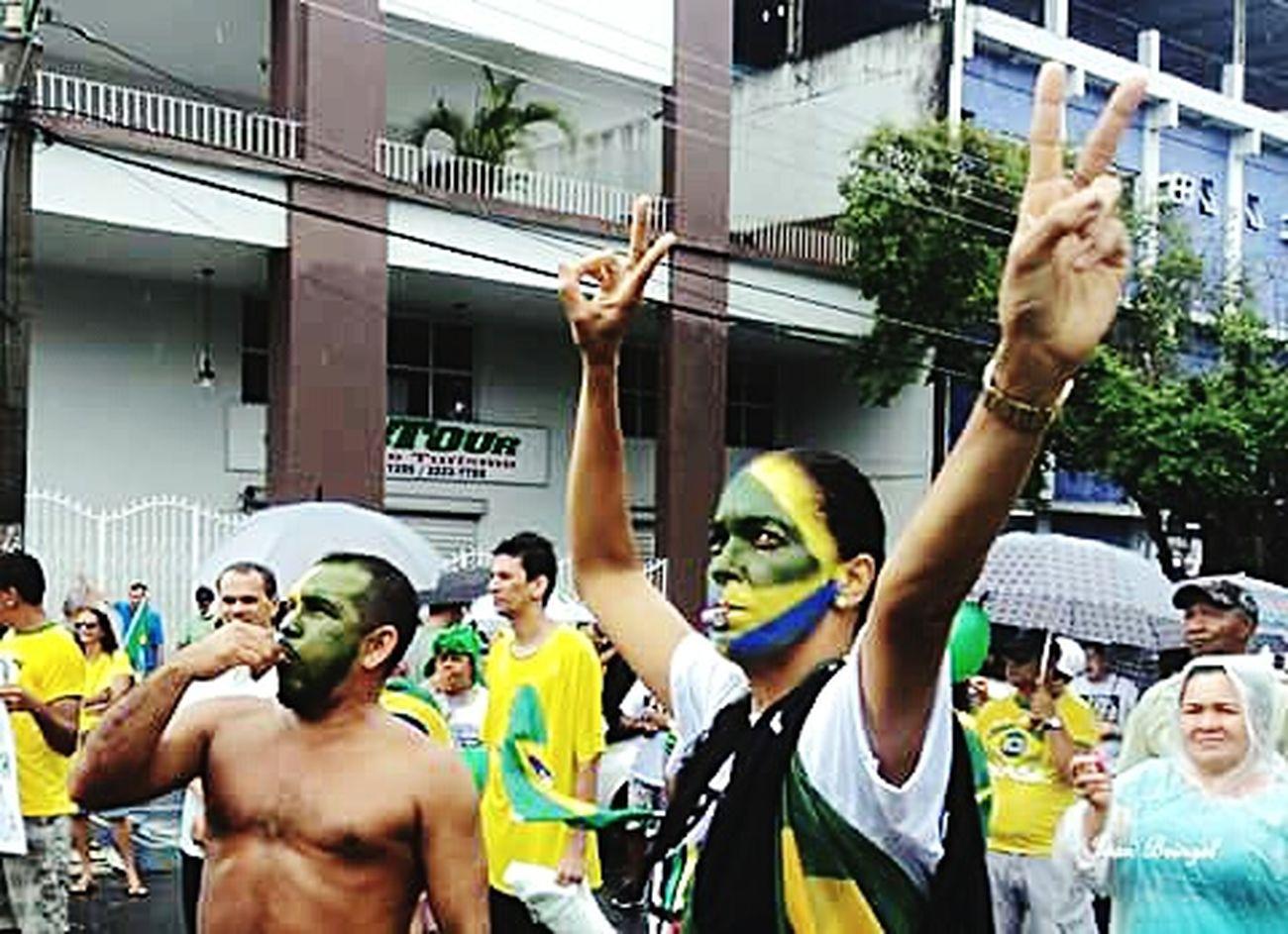 Foradilma 12 De Abril Protesting Protestobrasil Caras Pintadas Brasileiros Brazilians