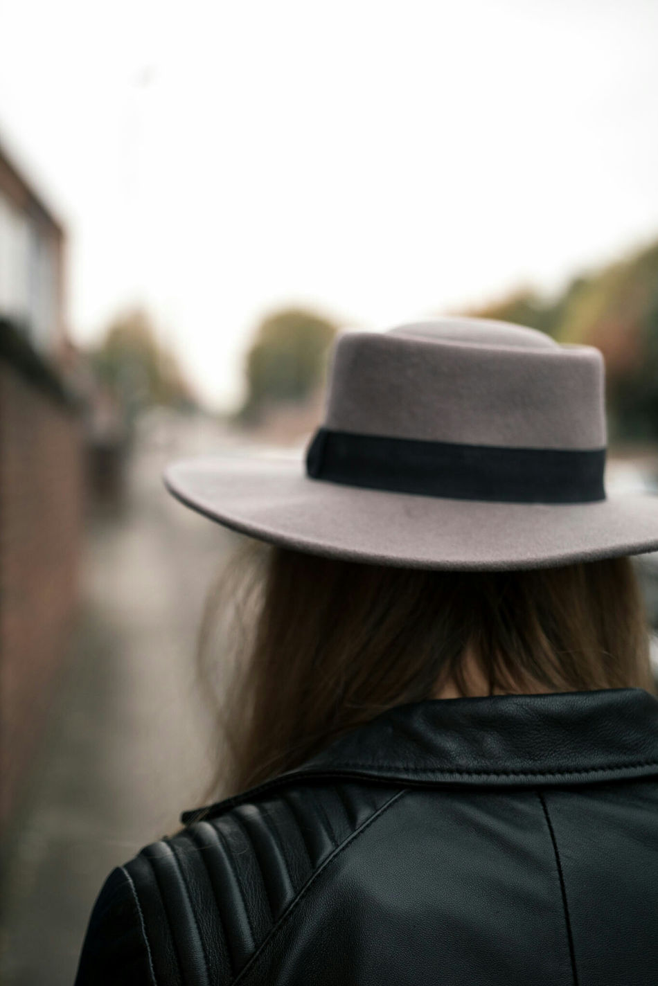 Stand and stare pt.2 Hat Headshot Rear View Women Adult People Mature Adult One Person Close-up Beauty One Woman Only Adults Only Human Body Part Outdoors Day Fashion Fashion Portrait Portrait