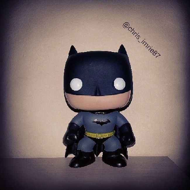 """Are you dense? Are you retarded or something!? Who the hell do you think I am? I'm the goddamn Batman!"" Batman CapedCrusader Darkknight Batfamily FamilyOfBats Funko Funkopop Instadaily Picoftheday Gotham Arkham ArkhamCity Jimlee AllStarBatmanAndRobin FrankMiller"