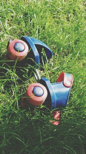 Rollerskate Grass