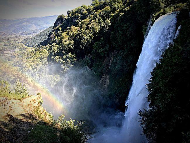 Raynbow Waterfall Marmore Falls Nature Beautiful Nature