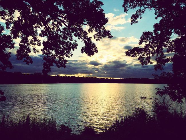 Relaxing Tranquil Scene Sunset Sunset_collection Sunset Silhouettes Sunset #sun #clouds #skylovers #sky #nature #beautifulinnature #naturalbeauty #photography #landscape Lake Lake View Lakeside Dusk Sky Minnesotaphotographer