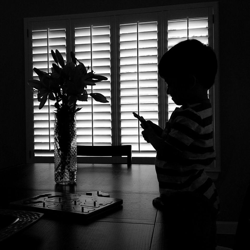 Blackandwhite Black & White Blanco Y Negro Silhouette Silueta Puzzle  Rompecabezas Smiling