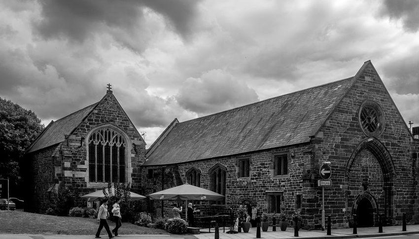 Saint John's Hospital, Northampton Architecture Black And White Chuches Northampton