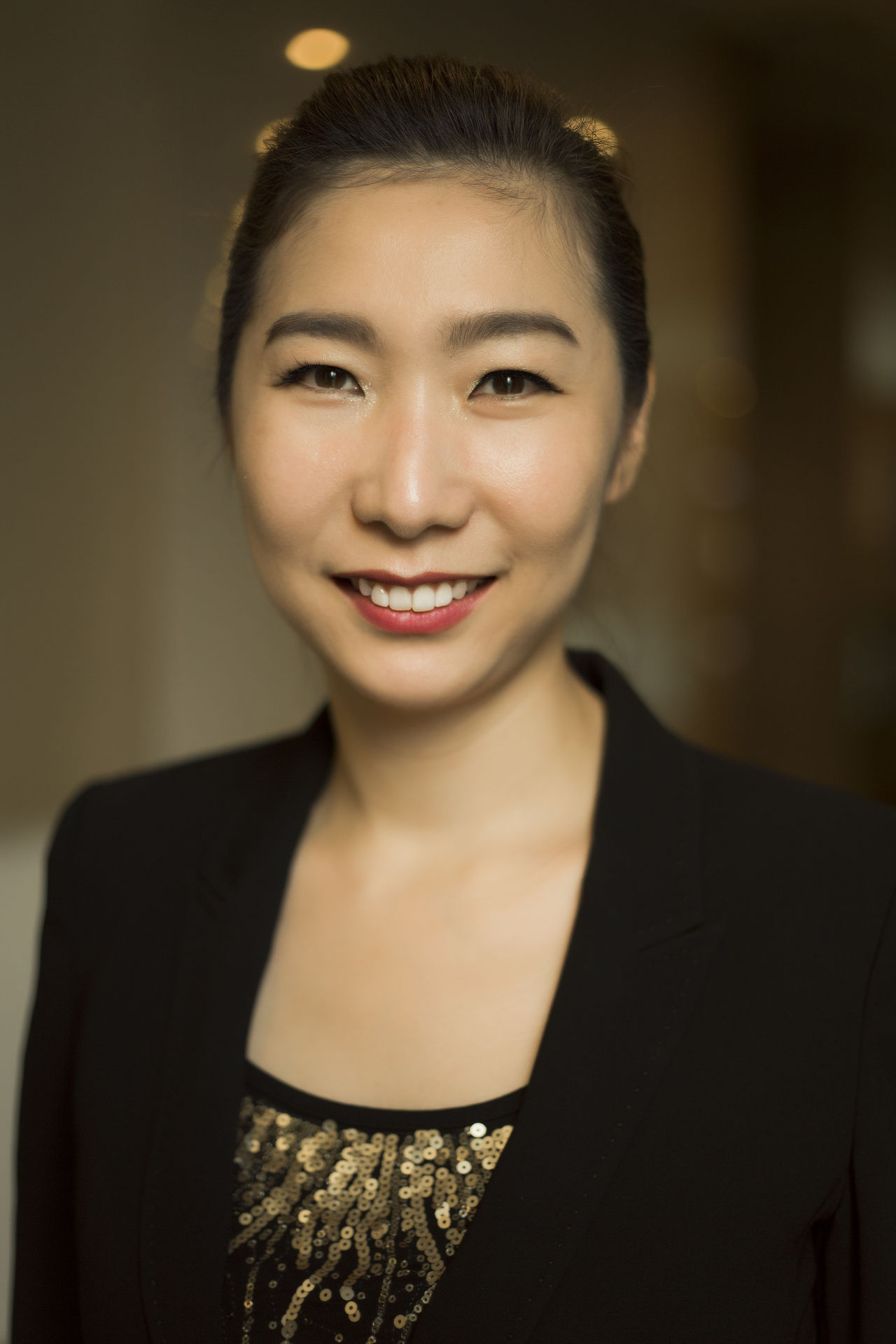 Portrait of an Asian Korean female business woman Business Businesswoman Close-up Elite Facial Expressions Headshot Human Face Korean Looking At Camera Manager Office People Person Portrait Skin Smiling The Portraitist - 2016 EyeEm Awards Happiness Happy Emotions